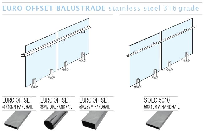 Euro Offset Balustrade