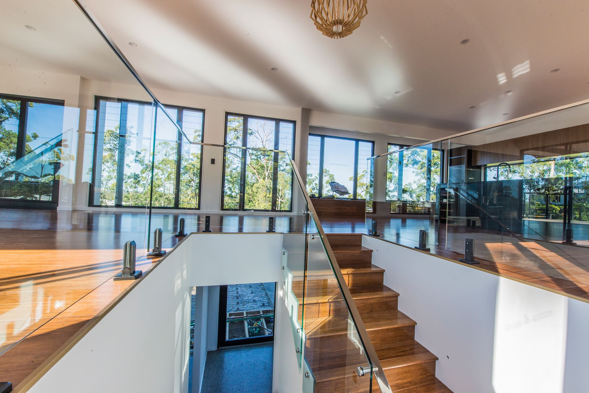 Frameless glass Stairs and Balustrade