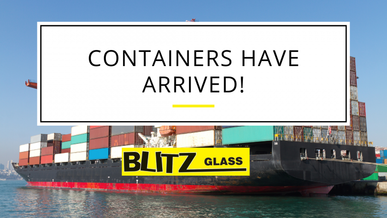 Containers have arrived